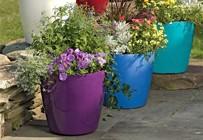 Plastové kvetináče