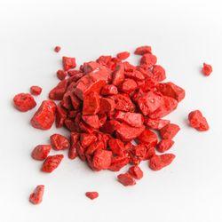 Dekoračný kameň - červený štrk 2-20kg