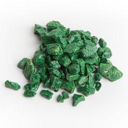 Dekoračný kameň - zelený štrk 2-20kg