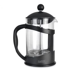 French Press Black na kávu-čaj 1,5l