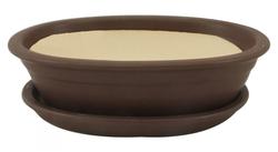Keramická misa Bonsai hnedá 4 veľkosti