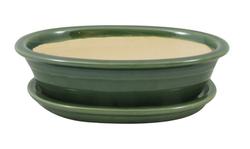 Keramická misa Bonsai zelená 4 veľkosti