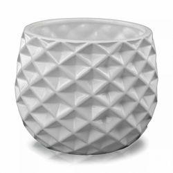 Keramický obal Barcelona 16 cm biela