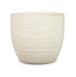 Keramický obal Pottery vainilla 14 - 16 cm