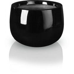 Kvetináč Fiber bowl black 3 veľkosti