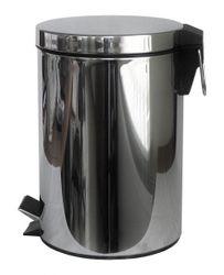Odpadkový kôš nášľapný 20l nerezový s vložkou