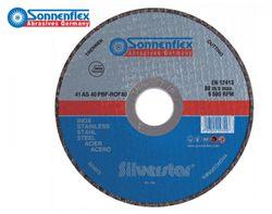 Rezný kotúč 115x1,0x22,23 Sonnenflex Silverstar INOX