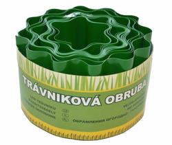 Trávniková obruba zelená 10cm