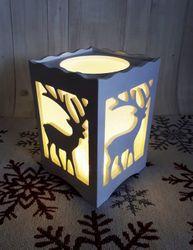 Vianočná lampa Sobík LED