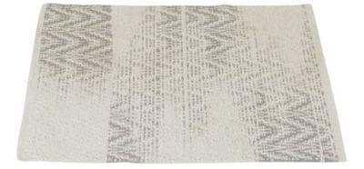 Bavlnený koberec Knokke grey 60 x 90 cm