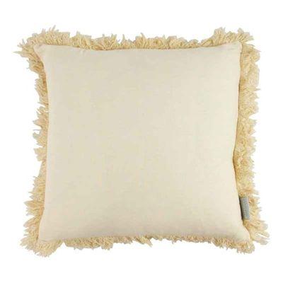 Bavlnený vankúš Lola vanilka 45 x 45 cm