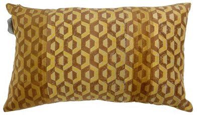 Bavlnený vankúš Roos camel 50 x 30 cm