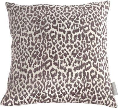 Zamatový vankúš Fluweel leopard 45 x 45 cm