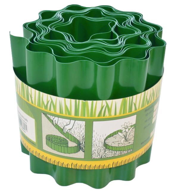 Trávniková obruba zelená 20cm